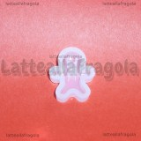 Stampo Gingerbread in silicone 15x18mm